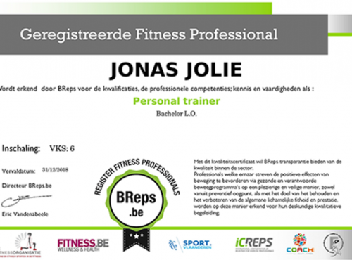 Diploma personal coach